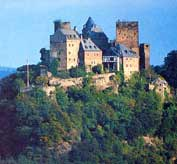 Castle along the Rhine.